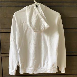 adidas Shirts & Tops - Adidas White Hoodie Youth